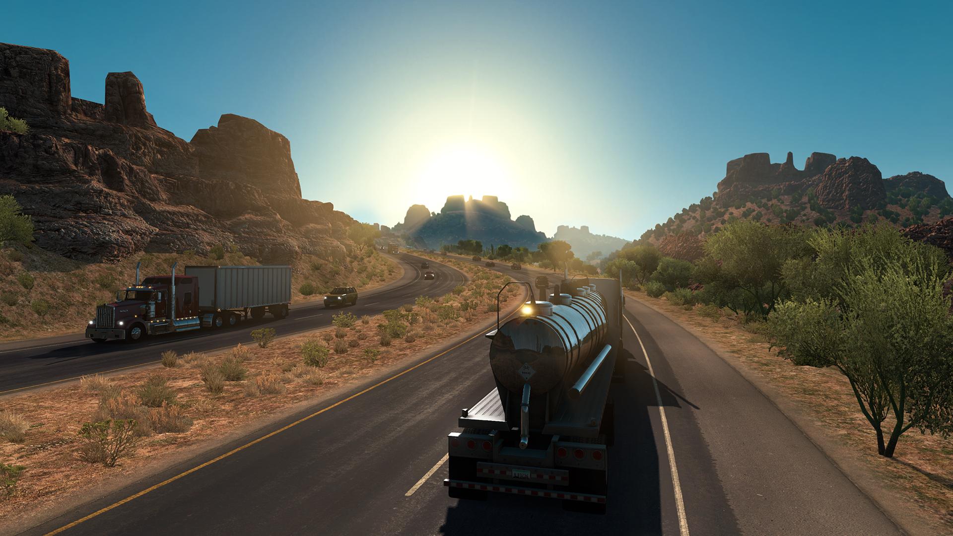 download american truck simulator ocean of games