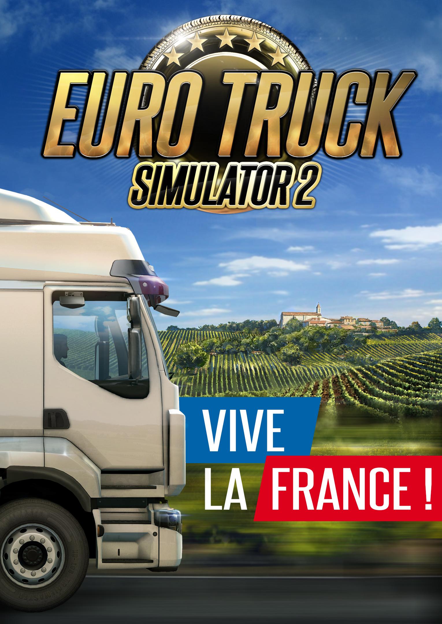 scs software euro truck simulator 2 vive la france. Black Bedroom Furniture Sets. Home Design Ideas